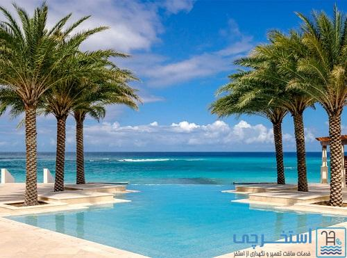 هتل اسپانیایی Zemi Beach House ، آنگویلا