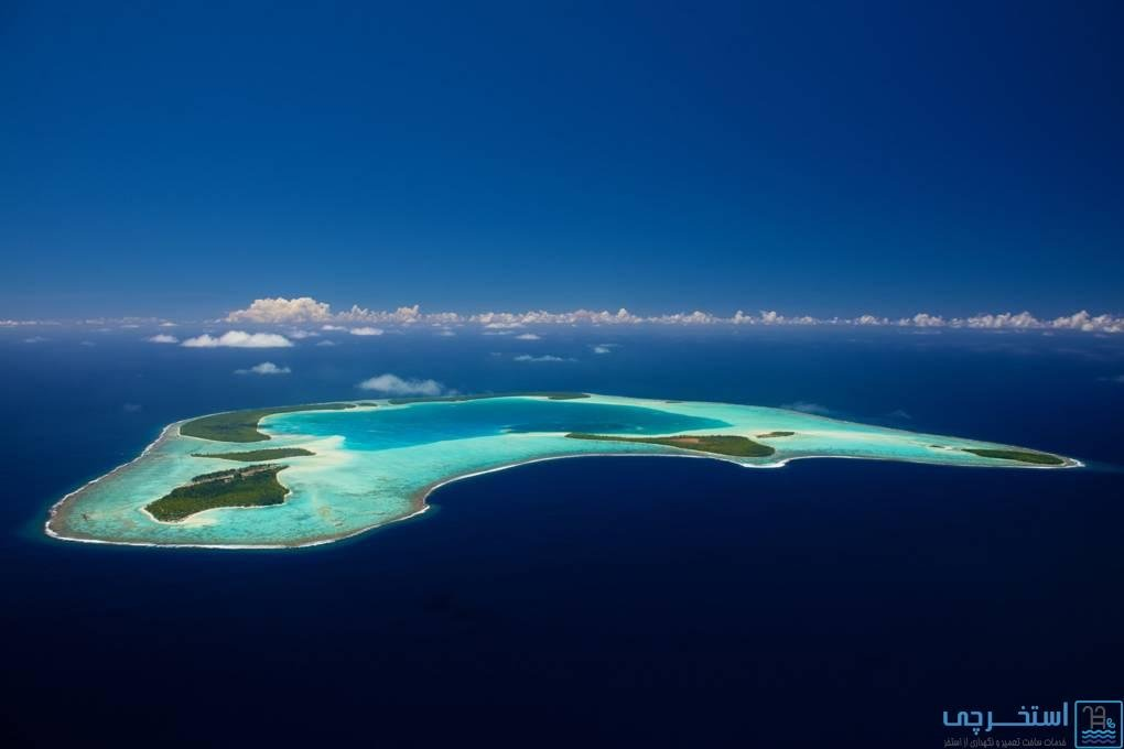 هتل های جزیره ای براندو